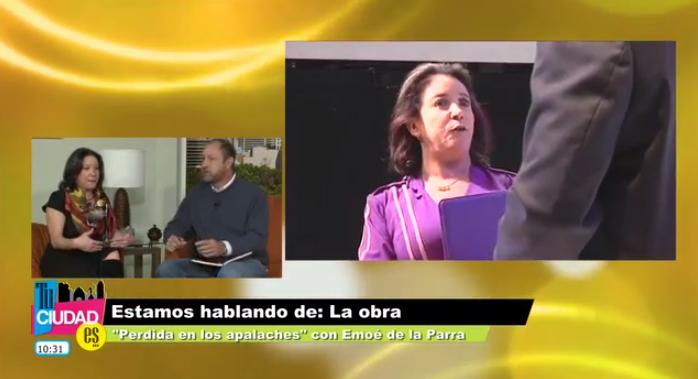 Rodrigo Murray presenta a Emoé de la Parra.  Perdida en los Apalaches.