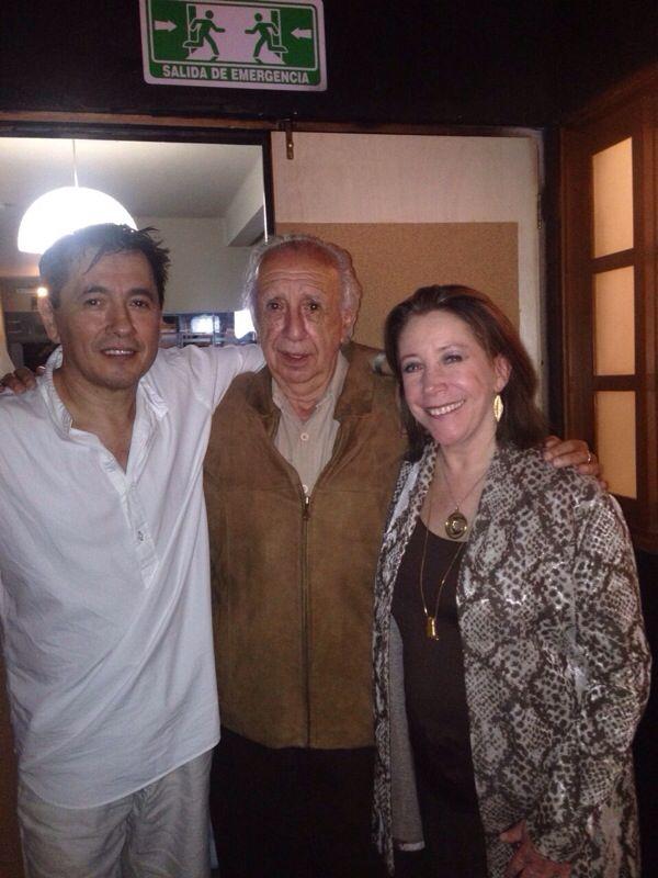 DEP Vicente Leñero. Maestro de la actriz Emoé de la Parra