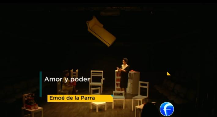 Emoé de la Parra en Foro TV Creadores Universitarios