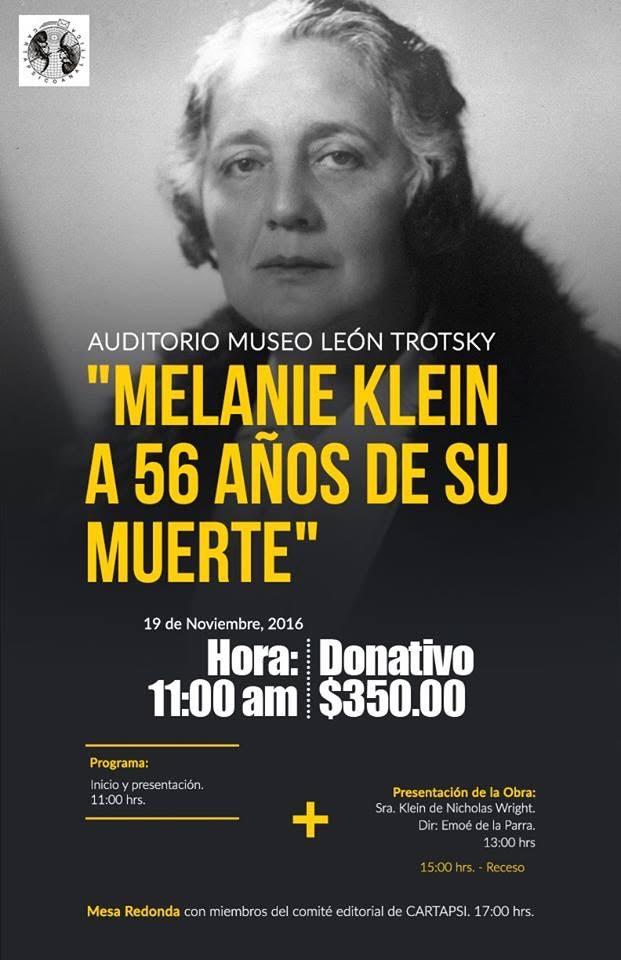 Emoé de la Parra Melanie Klein León Trotsky México